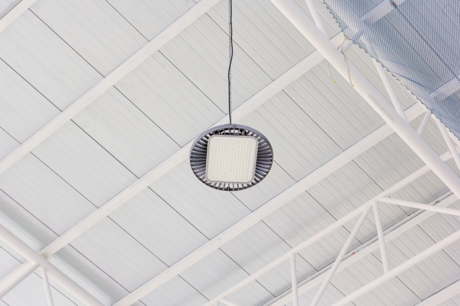 LED Warehouse Lights Reduce Overheads